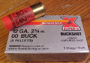 12 ga. Buckshot 00