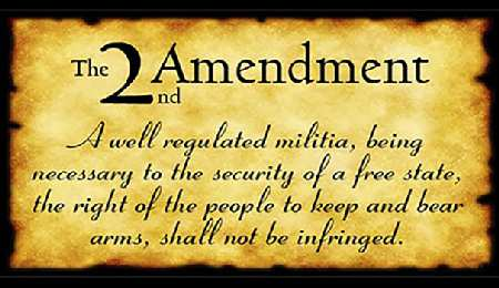 The Second Amendment to the U.S. Constitution