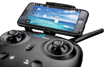 Altair #AA108 Camera Drone with cell phone attached