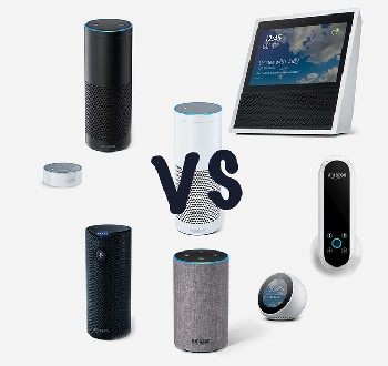 There are 5 different Alexa Echo devices on the market.