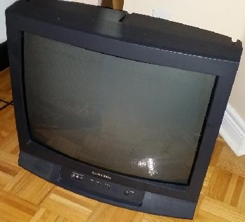 Old analog TV