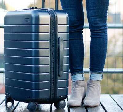 Away smart luggage is very popular today.