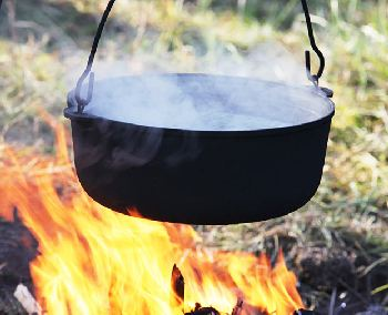 Boiling is the easiest way to purify water.