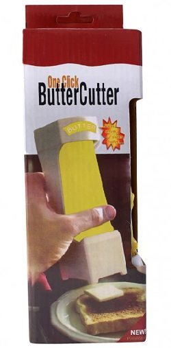 One Click Stick Butter Cutter with Stainless Steel Blade 851