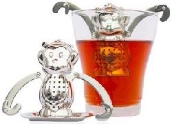 Dunkin Monkey Stainless Tea Infuser