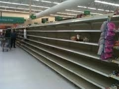 The grocery stores will empty out quickly when the SHTF.