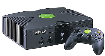 This is the first Xbox home console.