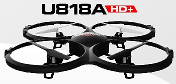Force1 UDI U818A Camera Drone is good for Beginners.