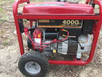 Generac 4000 portable generator
