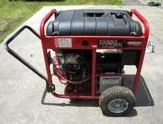Large Generac portable generator