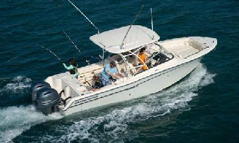 Grady White luxury fishing boats