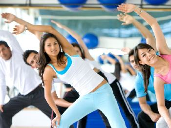 Gym exercise routines can be fun, supportive and provide motivation.