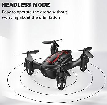 Headless mode is a must for any decent drone.