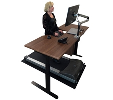 Imovr Treadmill Desk with Thermo Tread
