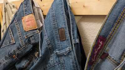 Wife's favorite blue jeans: Levi's, Lee Riders and Gloria Vanderbilt