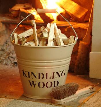 Nice supply of kindling to start fires