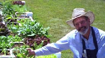 Mel Bartholomew, founder of square foot garden