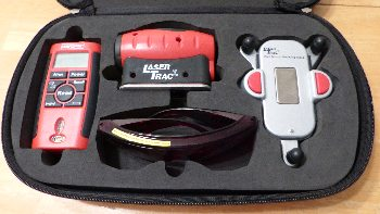 Craftsman Laser Kit: Laser Guided Measuring Tool #48252 4-in-1 Level #48251