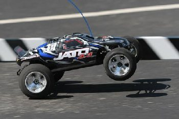A Nitro-powered RC car