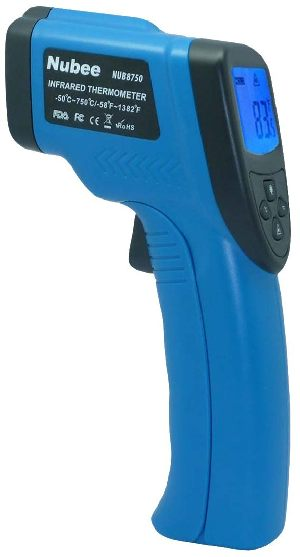 Nubee Temperature Gun Non-contact Digital Laser Infrared IR Thermometer Nubee-8750
