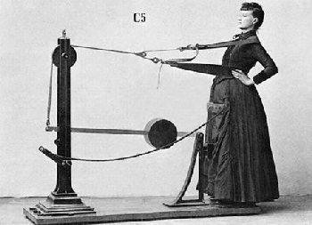 Exercise equipment or torture device?