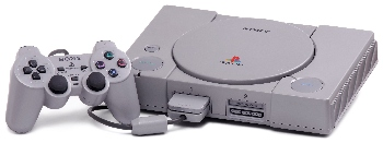 This is what the first PlayStation home console looked like.