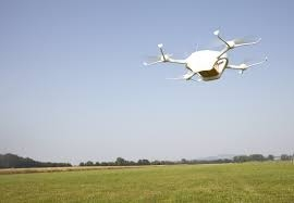 Make your first drone flight in an open field.