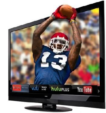 Our beloved 65-inch Vizio HDTV