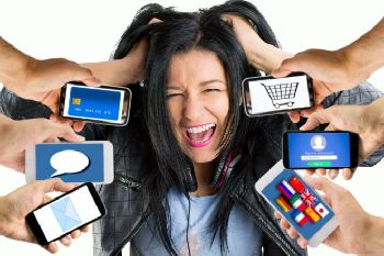 Overwhelmed by your cell phone?