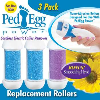 Ped Egg replacement rollers