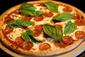 Fresh basil is crucial to a good homemade pizza.