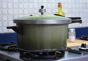 The beloved pressure cooker, 1960s