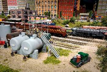 Model HO railroad landscapes