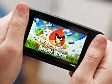 Angry Birds popular smartphone game