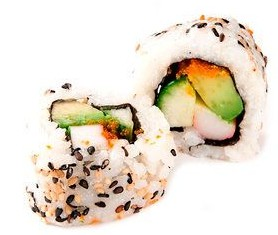 Love them California Sushi Rolls!