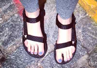Comfortable and durable Tevas Sandals.