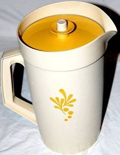 Old Tupperware pitcher, 1960s