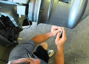 Wrenching on a Yamaha Outboard Motor