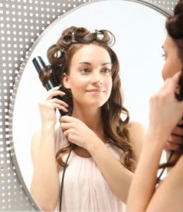 Tips for curling hair with a curling iron