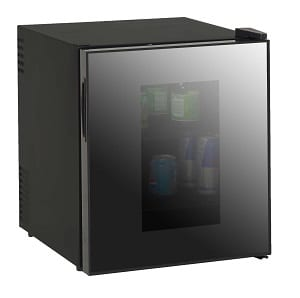 Best glass door mini fridge by Avanti