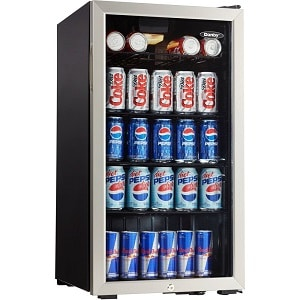 Best glass door mini fridge by Danby