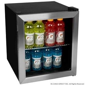 EdgeStar 62 Can - Best glass door mini fridge