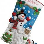 Christmas stocking kits by Bucilla