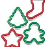 Christmas cookie cutters by Wilton
