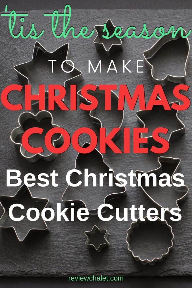 Best Christmas cookie cutters for the holidays - Pinterest image
