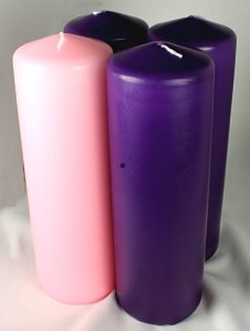 advent candle colors and what they mean. Black Bedroom Furniture Sets. Home Design Ideas