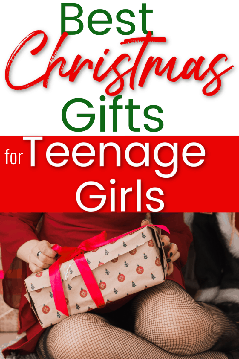 Best Christmas gift ideas for teenage girls - Pinterest image