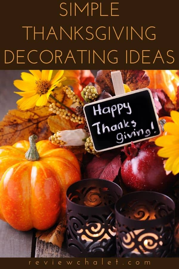 Decorating for Thanksgiving Ideas