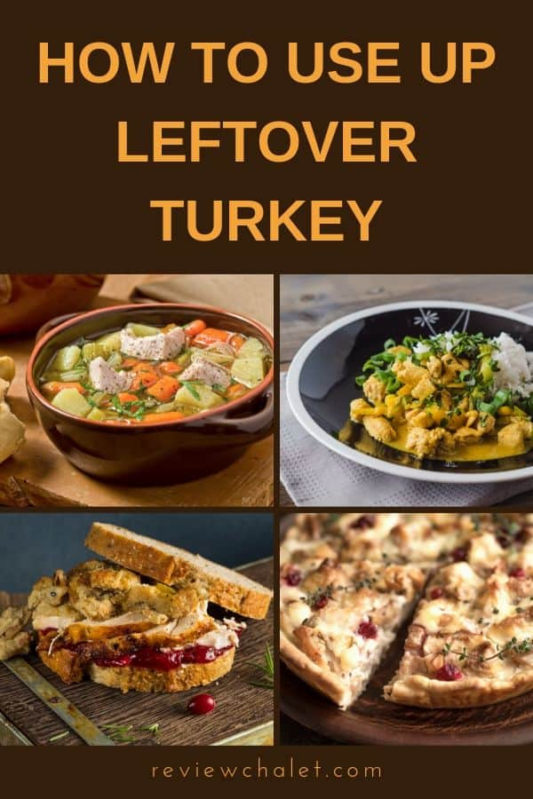 Thanksgiving is over and there's so much turkey left over! You cringe at the idea of getting another turkey bite, but don't worry. Here's how to use up leftover turkey. #thanksgiving #turkey #turkeyleftovers