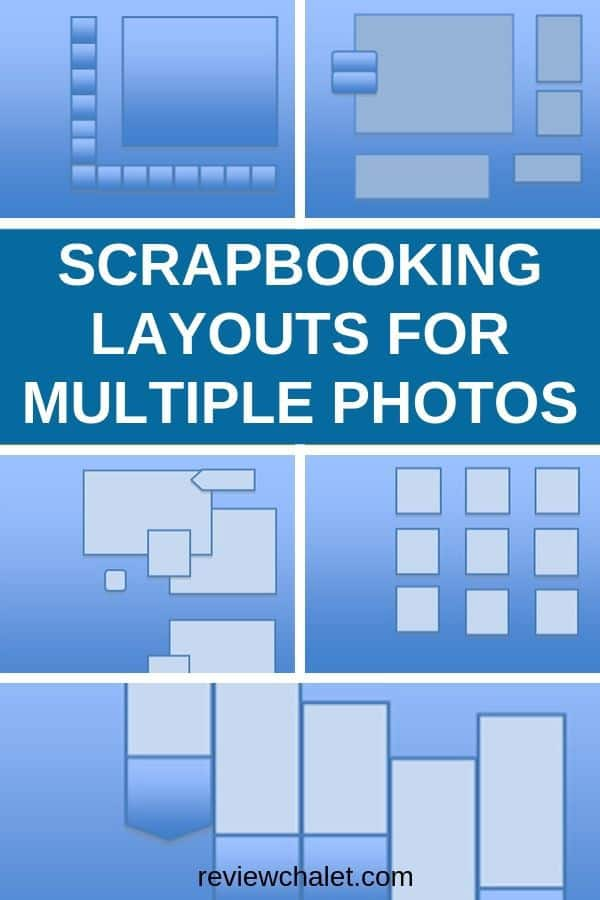 Scrapbooking layouts for multiple photos